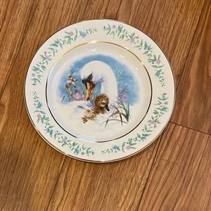 Vintage Avon Gentle moments plate 1975